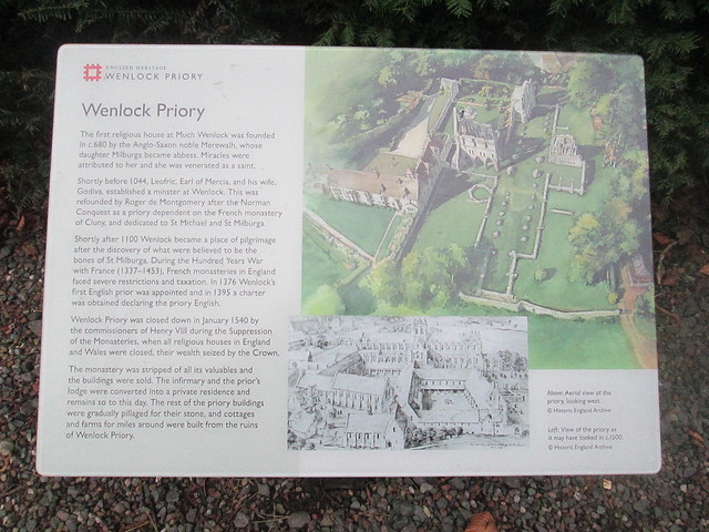 Wenlock  Priory Board