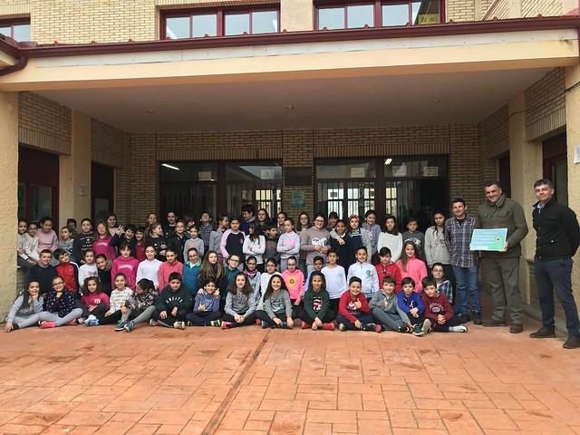 """El Colegio Camilo Hernández de Coria, ganador del reto de reciclaje """"El vidrio se mueve"""""""