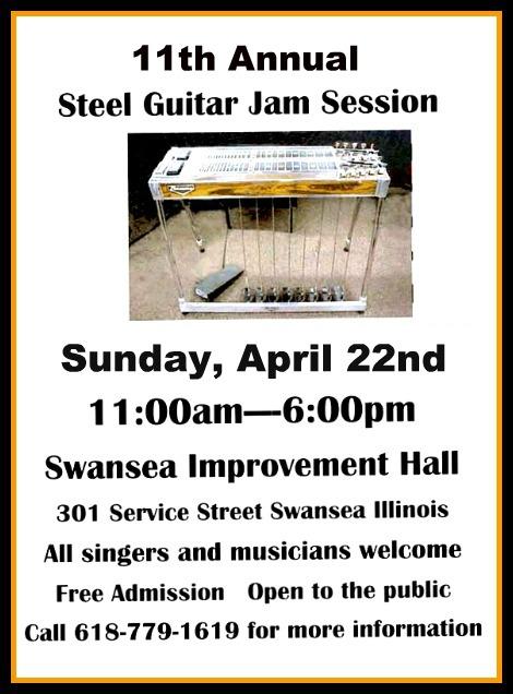 Steel Guitar Jam 4-22-18