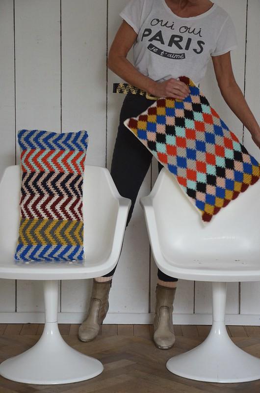 woodwoolstool pillows