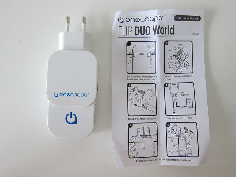 Flip Duo World - Box Contents
