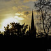Sunset over Norwich Cathedral