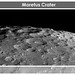 Moretus Crater on Earth's Moon