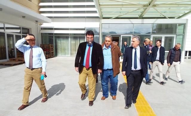 Επίσκεψη Βασίλη Οικονόμου στη Λευκάδα