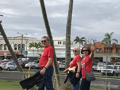 Hawaii Electric Light at the Hilo Heart & Stroke Walk - March 10, 2018: Walking together for a good cause!