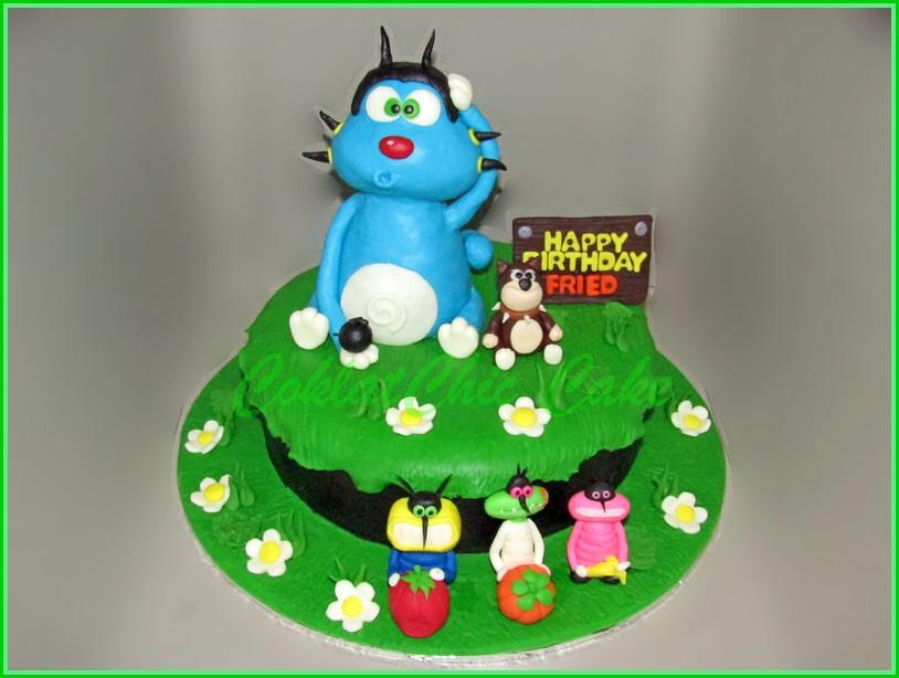 Cake Oggy FRIED 20 cm
