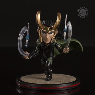 壞壞惹人愛~~ Quantum Mechanix Q-Fig 系列《雷神索爾3:諸神黃昏》洛基 Loki – Thor: Ragnarok Q-Fig Diorama