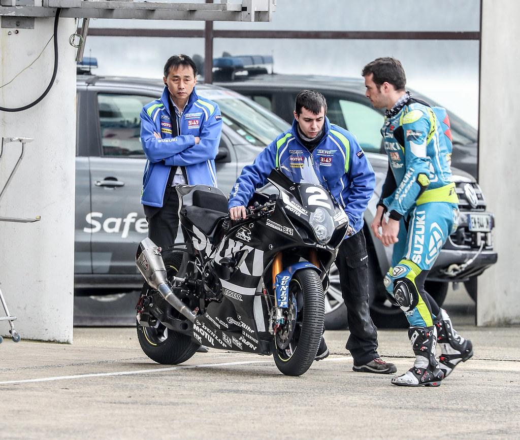 24h,Mans,Moto,2018,Test,Days,Team,Suzuki,Sert