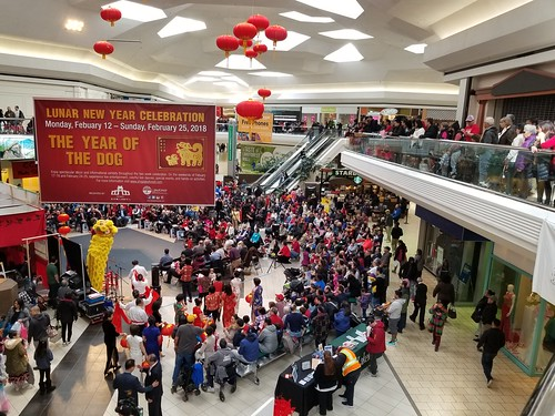 Lakeforest Mall, Chinese New Year celebration