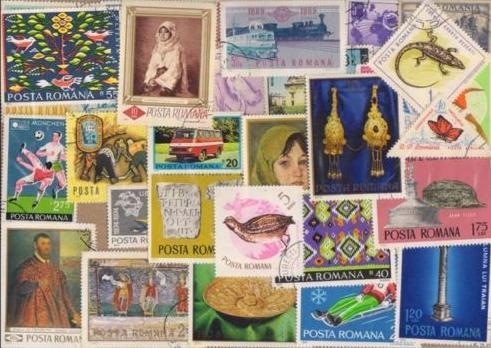 Známky Rumunsko balíček 200 ks rôznych
