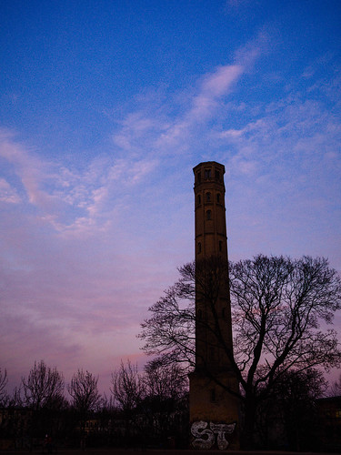 064 Sunset am Wasserturm