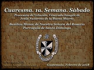 1a. Semana, Sabado, Santo Domingo