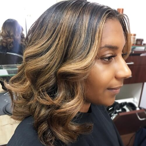 32 Honey Brown Hair All Types Of Ladies - Fashion 2D-9258