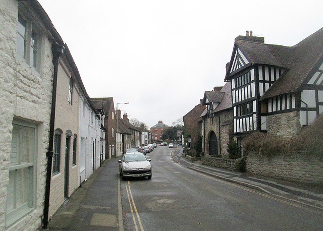 Much Wenlock Buildings