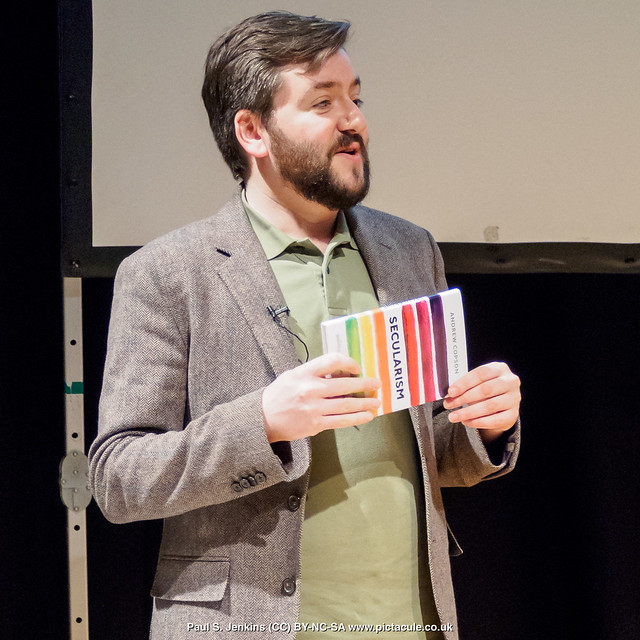 Secularism:politics, religion, and freedom - with Andrew Copson at Winchester Skeptics, 25 Jan 2018
