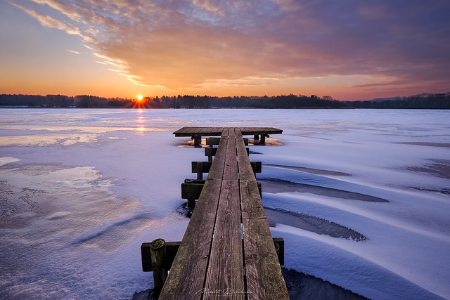 Winter Jetty Sunrise II