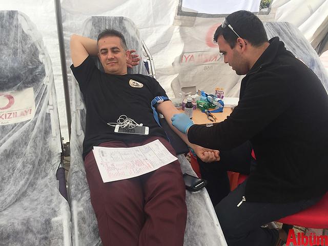 Cihan Baba- Bahçeşehir Koleji Alanya kan bağışı etkinliği