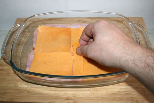 25 - Scheibenkäse hinzufügen / Add sliced cheese