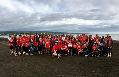Hawaii Electric Light at the Hilo Heart & Stroke Walk - March 10, 2018: Team Hawaii Electric Light