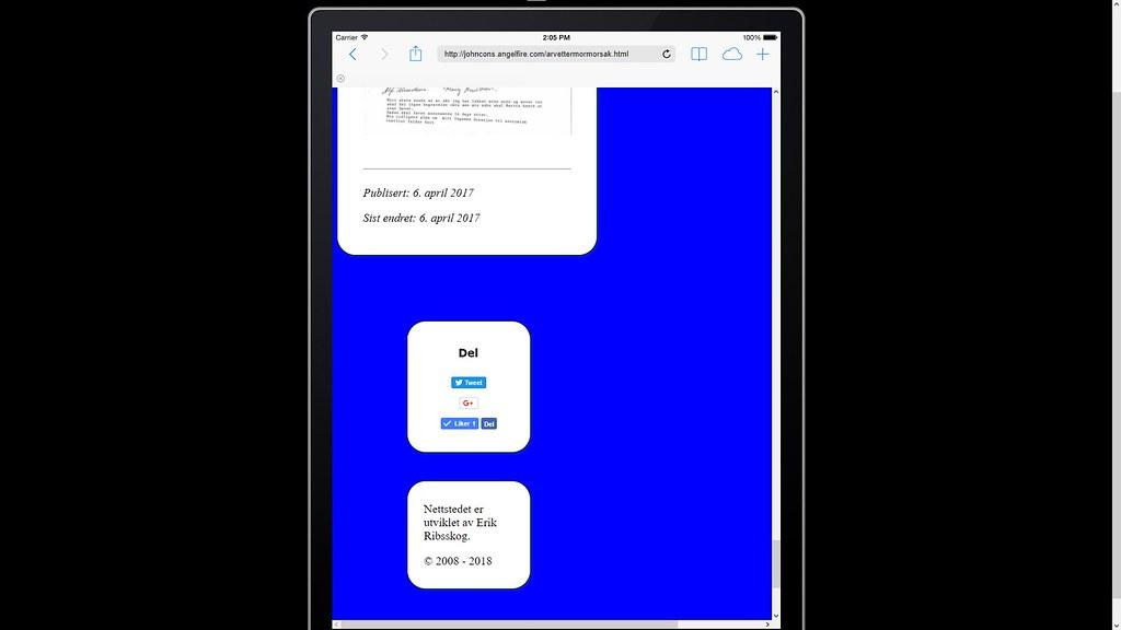 på emulator