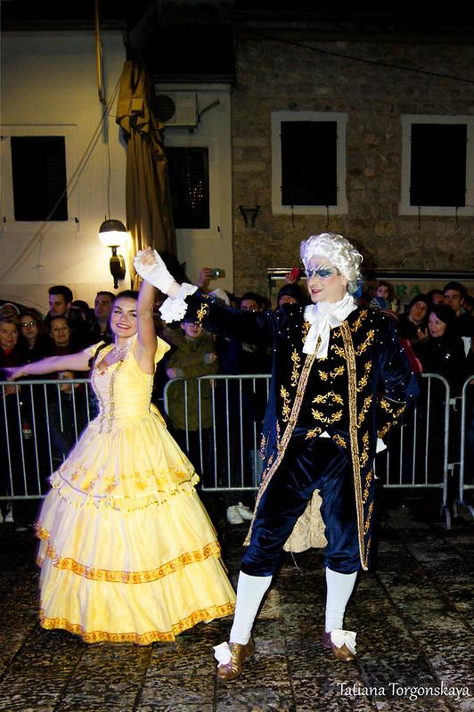 Танец Белль и принца