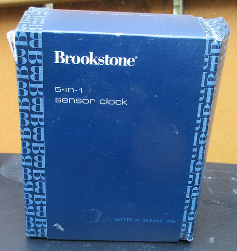 Brookstone 5-in-1 Clock