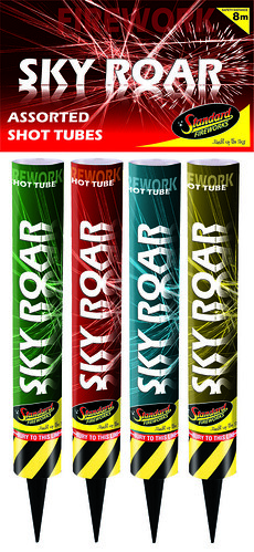 Sky Roar Shot Tubes by Standard Fireworks