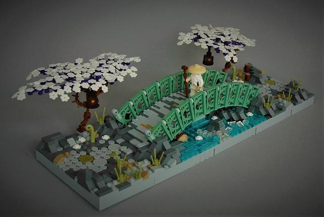 LEGO Bridge - Pont zen