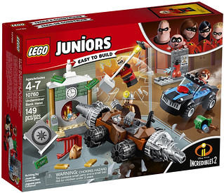 一次收集完超可愛的超人一家~~LEGO 10760、10761 Juniors 系列《超人特攻隊2》Incredibles 2 電影盒組