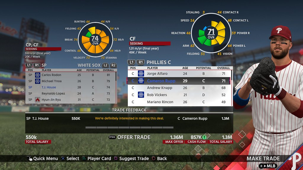 Everything New in MLB The Show 18's Franchise Mode