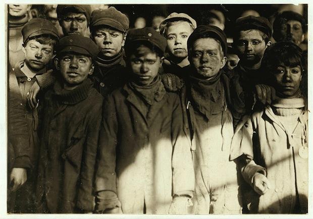 Детский труд в США #1