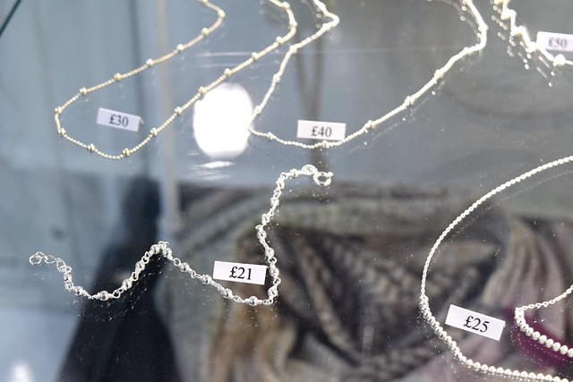 Delicate Jewellery at 925 Silver, Canterbury #canterbury #silver #jewellery