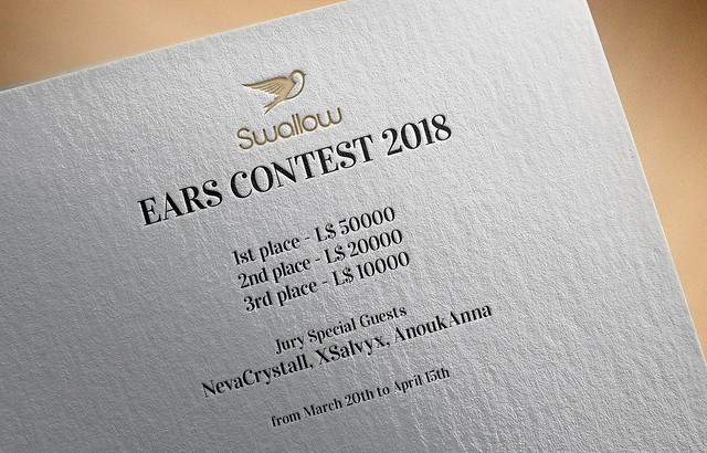 ^^Swallow^^ Ears Contest: L$ 80.000