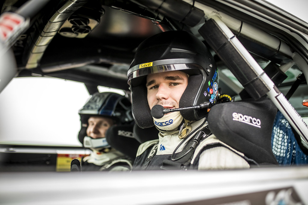 42 BROZ Dominik (cze),TESINKY Pietr,(cze) , PEUGEOT 208 R2, portrait during the 2018 European Rally Championship ERC Azores rally,  from March 22 to 24, at Ponta Delgada Portugal - Photo Gregory Lenormand / DPPI
