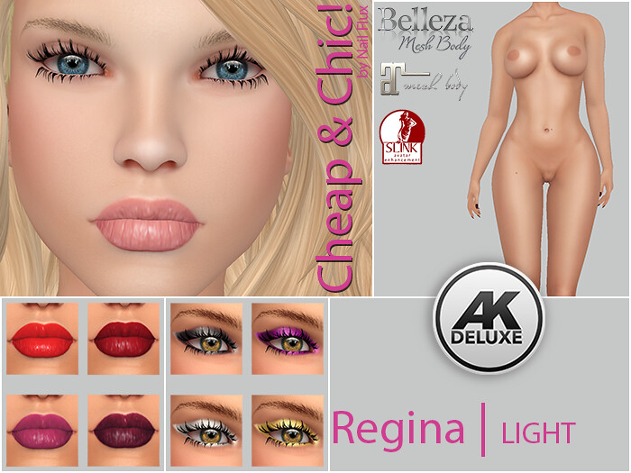 Cheap & Chic! Regina-LIGHT applier [AK Deluxe] - TeleportHub.com Live!