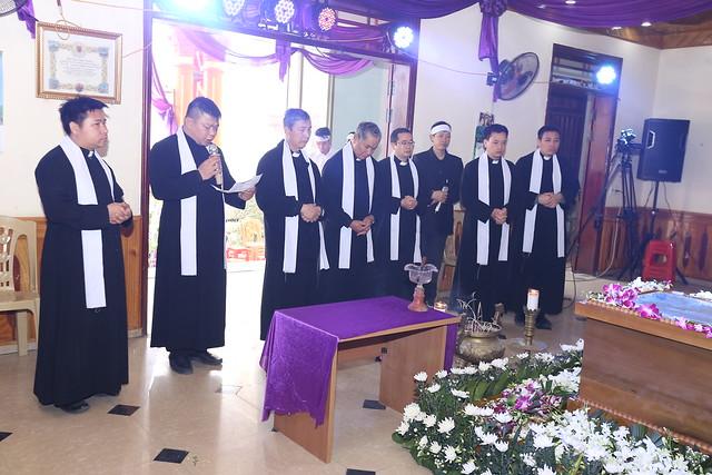 [Ảnh - ngày 08/3/2018] Lễ Tang Cha cố Đaminh Phạm Quang Trung - Nguyên Linh Mục chánh xứ Hoàng Xá