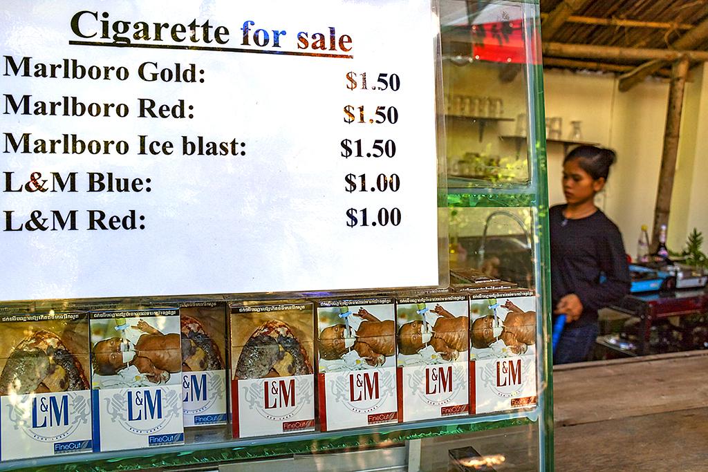 Cigarette for Sale--Phnom Penh