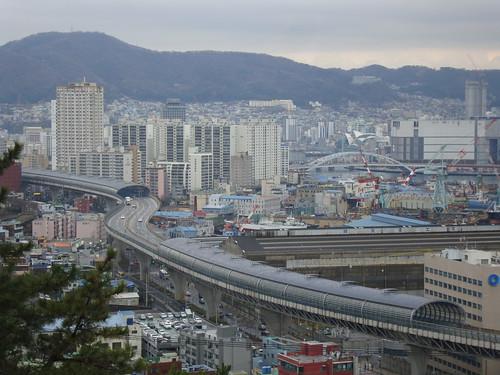 Regenwetter in Busan