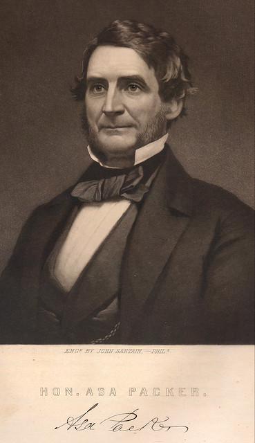 Honorable Asa Packer ca1860