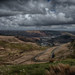 Cloudy skies over the Bwlch