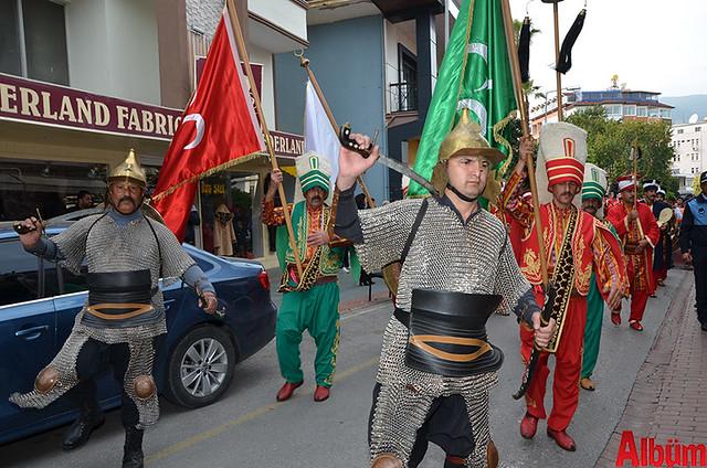 Türk Eğitim Sen Alanya Temsilciliği 18 Mart Çanakkale Zaferi Anısına Şehitlere Saygı Yürüyüşü -11