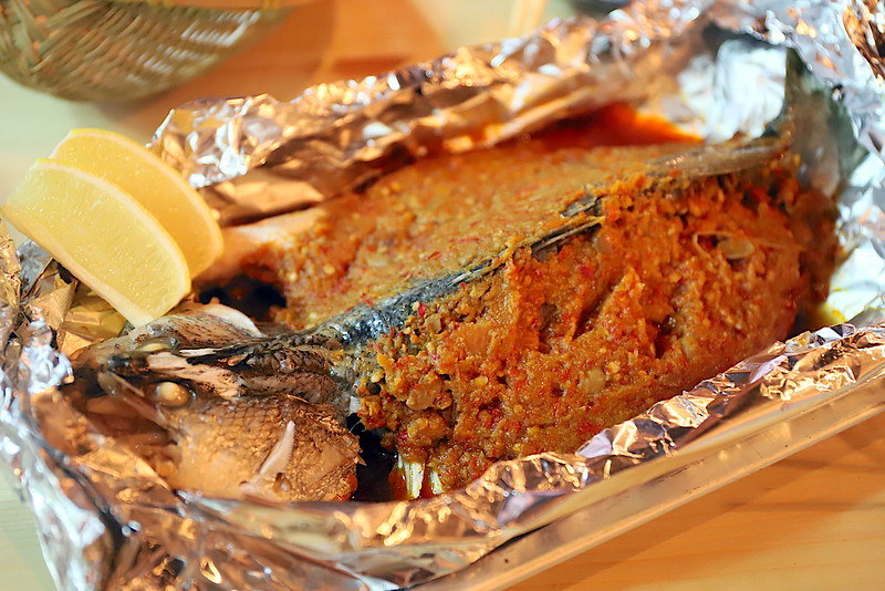 Whole Seabass with Homemade Chili