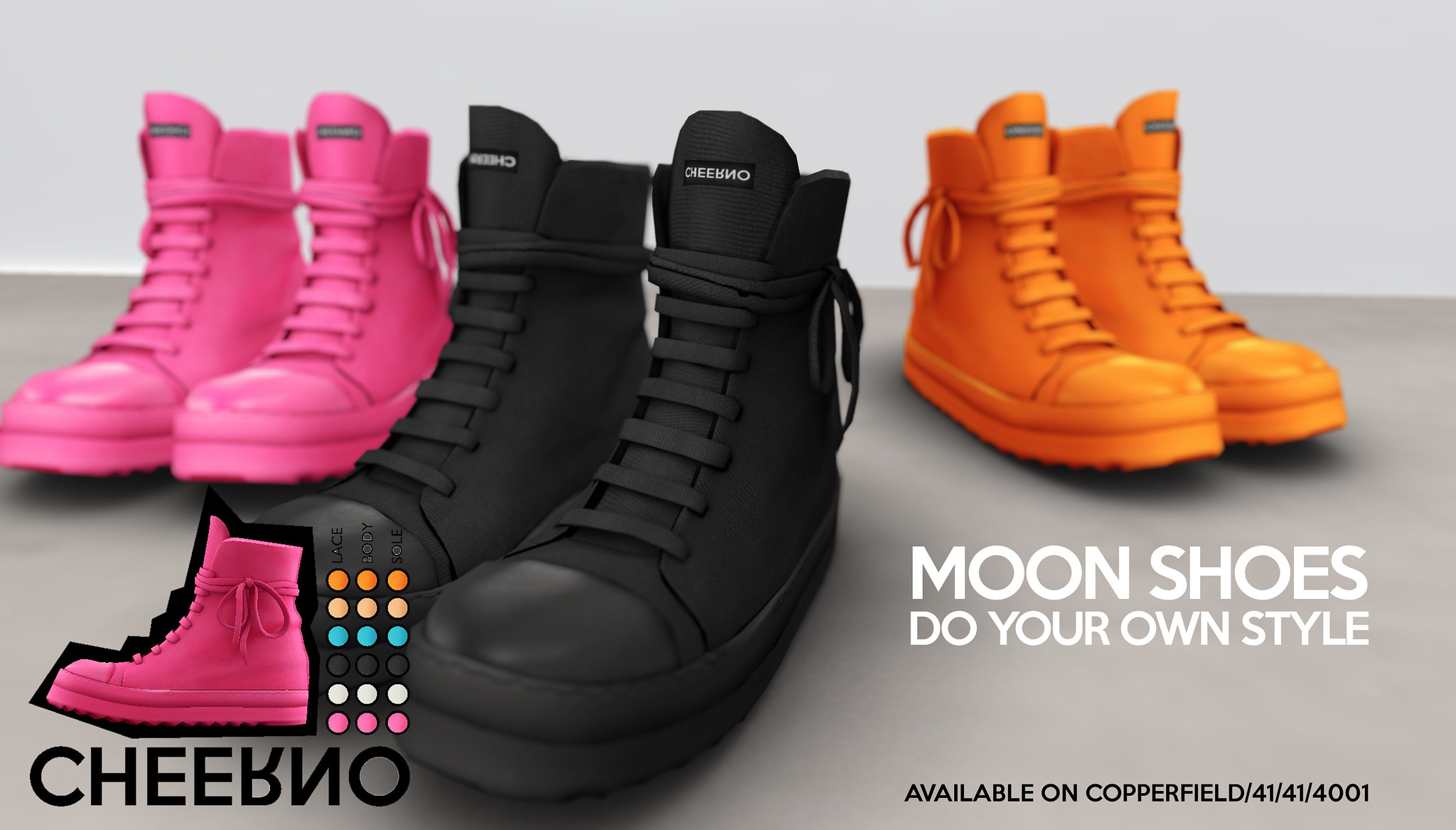 Moon Shoes V.3 Available Now