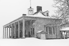 Snowstorm at the Mansion