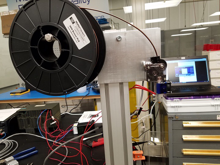 Extruder Test Stand MP1000