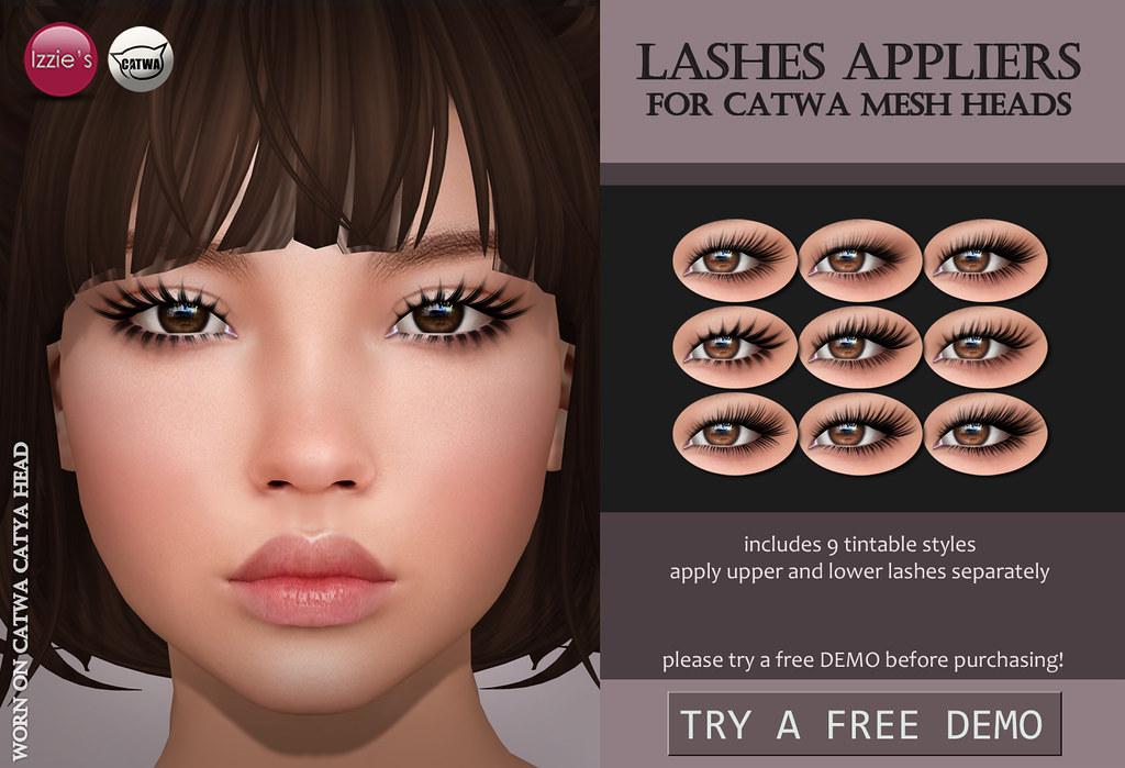 Catwa Lashes (Skin Fair)