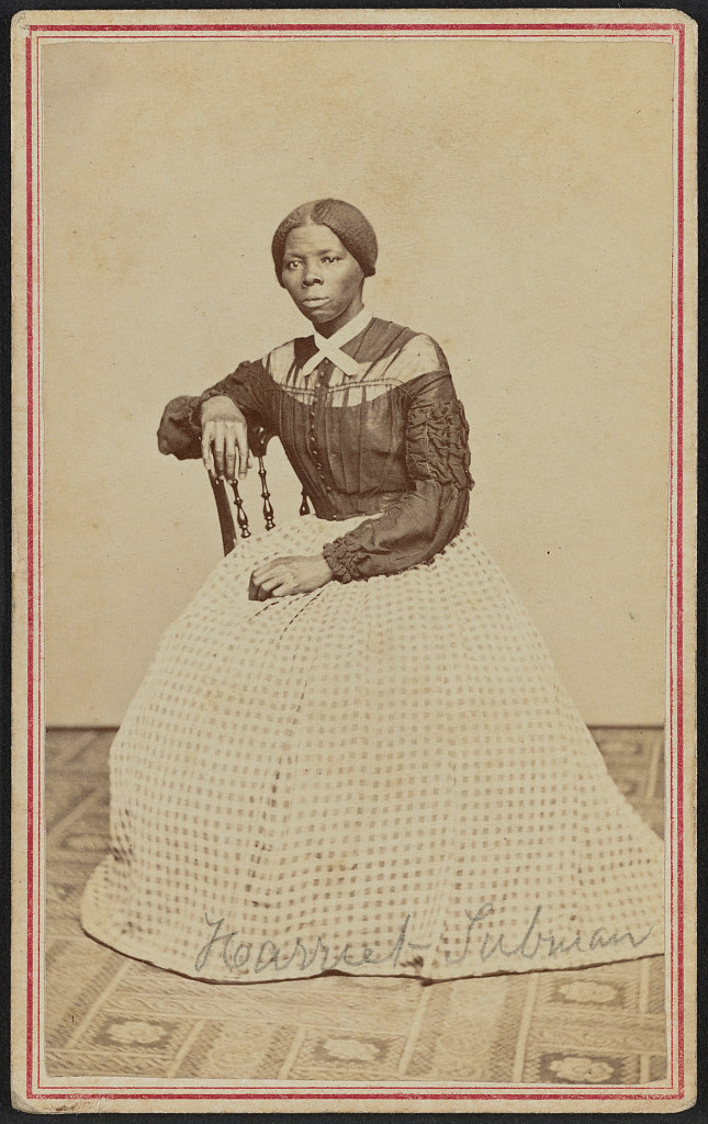 [Portrait of Harriet Tubman] (LOC)