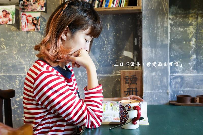 二樓咖啡館,台北不限時咖啡館,台北咖啡館,台北有插座咖啡館,捷運大橋頭站美食,樓梯好抖,老屋咖啡館,迪化街咖啡館,雙連站咖啡館 @陳小可的吃喝玩樂
