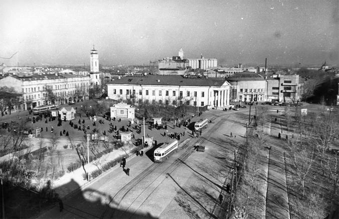 Контрактовая площадь, 1953-й год