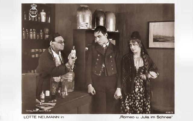 Lotte Neumann in Romeo und Julia im Schnee (1920)
